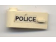 Part No: 3822pb018  Name: Door 1 x 3 x 1 Left with 'POLICE' Pattern (Sticker) - Set 6681