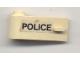 Part No: 3822pb018  Name: Door 1 x 3 x 1 Left with 'POLICE' Pattern (Sticker) - Set 6681