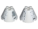 Part No: 3943bpb02  Name: Cone 4 x 4 x 2 with Axle Hole and Black Mechanical Pattern (Stickers) - Set 7468