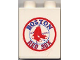Part No: 4066pb133  Name: Duplo, Brick 1 x 2 x 2 with Boston Red Sox Logo Pattern with Plain Back