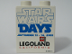 Part No: 4066pb318  Name: Duplo, Brick 1 x 2 x 2 with Star Wars Days 2008 Pattern