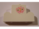 Part No: 4088pb04  Name: Brick, Modified 1 x 4 x 2 Center Stud Top with Butterfly Pattern (Sticker) - Set 7578