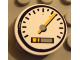 Part No: 4150pb021  Name: Tile, Round 2 x 2 with Speedometer Pattern (Sticker) - Set 8448