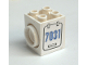 Part No: 41533pb01R  Name: Turntable 2 x 2 x 2 Side Facing Locking with '7031' Pattern on Right Side (Sticker) - Set 7031