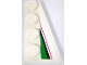 Part No: 41769pb03  Name: Wedge, Plate 4 x 2 Right with Red, Black and Large Green Pattern (Sticker) - Set 8898