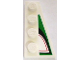 Part No: 41769pb04  Name: Wedge, Plate 4 x 2 Right with Angled Red, Black and Green Pattern (Sticker) - Set 8898