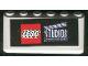 Part No: 4176pb19  Name: Windscreen 2 x 6 x 2 with LEGO Studios Pattern (Sticker)