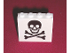 Part No: 4215ap30  Name: Panel 1 x 4 x 3 - Solid Studs with Skull and Crossbones (Jolly Roger) Pattern