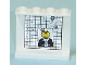 Part No: 4215bpb19  Name: Panel 1 x 4 x 3 - Hollow Studs with Police Case Board and Minifigure Photo Pattern on Inside (Sticker) - Set 7743