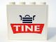Part No: 4215bpb25  Name: Panel 1 x 4 x 3 with Tine Logo Pattern (Sticker) - Set 1029