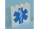 Part No: 4215bpb31  Name: Panel 1 x 4 x 3 - Hollow Studs with EMT Star of Life Pattern (Sticker) - Set 7892
