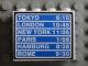 Part No: 4215pb031  Name: Panel 1 x 4 x 3 with Schedule Pattern 1 (Sticker) - Set 6597