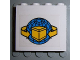 Part No: 4215pb036  Name: Panel 1 x 4 x 3 with Box and Arrows and Globe Pattern (Sticker)