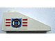 Part No: 4286pb018R  Name: Slope 33 3 x 1 with Coast Guard Pattern on Right Side (Sticker) - Set 6338