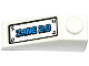 Part No: 4286pb023  Name: Slope 33 3 x 1 with Hatch with 'ZANE 2.0' and 4 Screws Pattern (Sticker) - Set 70737