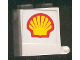 Part No: 4345apb01  Name: Container, Box 2 x 2 x 2 - Solid Studs with Shell Logo Pattern on Both Sides (Stickers) - Set 6378