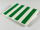 Part No: 4515p02  Name: Slope 10 6 x 8 with Green Stripes Pattern