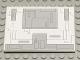 Part No: 4515pb011  Name: Slope 10 6 x 8 with SW Gunship Wing Panel Pattern (Sticker) - Set 7163
