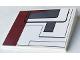 Part No: 4515pb034L  Name: Slope 10 6 x 8 with SW Republic Attack Gunship Pattern Left (Sticker) - Set 7676