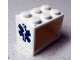 Part No: 4532apb03  Name: Container, Cupboard 2 x 3 x 2 - Solid Studs with EMT Star of Life Pattern (Sticker) - Set 8635