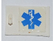 Part No: 4533pb007R  Name: Container, Cupboard 2 x 3 x 2 Door with EMT Star of Life to Right of Handle Pattern (Sticker)