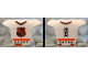 Part No: 47577pb02  Name: Minifigure, Hockey Body Armor with NHL Logo and Black Number 2 Pattern