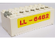 Part No: 4760c01pb03  Name: Electric 9V Battery Box Small Complete Assembly with LL-6482 Pattern
