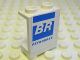 Part No: 4864bpb032R  Name: Panel 1 x 2 x 2 - Hollow Studs with 'BR' and 'PETROBRAS' Pattern Model Right (Sticker) - Set 8374