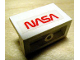 Part No: 4865pb009  Name: Panel 1 x 2 x 1 with 'NASA' Pattern (Sticker) - Set 1682