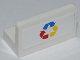 Part No: 4865pb047  Name: Panel 1 x 2 x 1 with Three Color Recycling Arrows Pattern (Sticker) - Set 4206