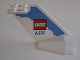 Part No: 4867pb12  Name: Tail Wedge with LEGO Air Logo Pattern on Both Sides (Stickers) - Set 4032-1