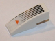 Part No: 50950pb067  Name: Slope, Curved 3 x 1 No Studs with Black Lines and Orange Arrow Pattern (Sticker) - Set 7692