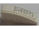Part No: 50950pb118  Name: Slope, Curved 3 x 1 No Studs with 'F430' Outlined Pattern (Sticker) - Set 8143