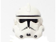Part No: 50995pb07  Name: Minifigure, Headgear Helmet SW Clone Trooper Ep.3 Pattern with Dotted Mouth