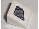 Part No: 54200pb020L  Name: Slope 30 1 x 1 x 2/3 with Vent Dots Fade Pattern Model Left (Sticker) - Set 8211
