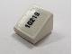 Part No: 54200pb024L  Name: Slope 30 1 x 1 x 2/3 with Black '10219' Pattern Left (Sticker) - Set 10219
