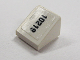 Part No: 54200pb024R  Name: Slope 30 1 x 1 x 2/3 with Black '10219' Pattern Right (Sticker) - Set 10219