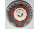 Part No: 553px1  Name: Brick, Round 2 x 2 Dome Top with Silver and Red Pattern (R5-D4)