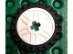 Part No: 56903c01  Name: Wheel 18mm D. x 8mm with Fake Bolts and Shallow Spokes and Axle Hole with Black Tire Offset Tread - Band Around Center of Tread (56903 / 61254)
