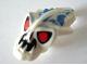 Part No: 57582pb02  Name: Minifig, Head Modified Bionicle Barraki Pridak