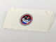 Part No: 58181pb03  Name: Slope 33 3 x 6 without Inner Walls with Space Center Logo Pattern (Sticker) - Set 3366