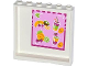 Part No: 59349pb079  Name: Panel 1 x 6 x 5 with Fruits, Drinks and Prices Pattern on Inside (Sticker) - Set 41035