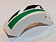 Part No: 6005pb008R  Name: Brick, Arch 1 x 3 x 2 Curved Top With Green and Black Pattern Model Right Side (Sticker) - Set 8864