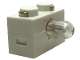 Part No: 6035c01  Name: Electric, Light Brick 1 x 2 with Single Side Light