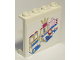 Part No: 60581pb065  Name: Panel 1 x 4 x 3 with Side Supports - Hollow Studs with Mall Map and Red Position Marker Pattern (Stickers) - Set 41058