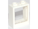 Part No: 60592c01  Name: Window 1 x 2 x 2 Flat Front with Trans-Clear Glass