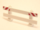 Part No: 6079pb05  Name: Fence 1 x 8 x 2 2/3 with Red and White Danger Stripes Pattern on Ends (Stickers) - Set 4204