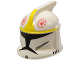 Part No: 61189pb01  Name: Minifigure, Headgear Helmet SW Clone Trooper with Holes, Clone Pilot Pattern