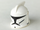 Part No: 61189pb03  Name: Minifigure, Headgear Helmet SW Clone Trooper with Holes, Standard Pattern