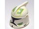 Part No: 61189pb07  Name: Minifigure, Headgear Helmet SW Clone Trooper with Holes, Sand Green Markings Pattern